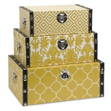 Essentials Storage Boxes (Set of 3)
