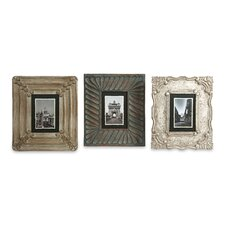 Aiden Hand Carved Picture Frame (Set of 3)
