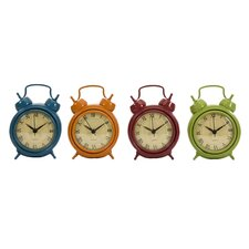 Corblin Desk Clocks (Set of 4)