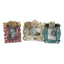 <strong>IMAX</strong> Carson Embellished Picture Frame (Set of 3)