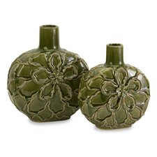 Poslie Dimensional 2 Piece Flower Vase Set