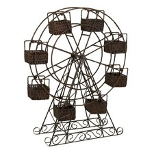 Ferris Wheel Basket Planter