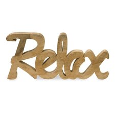 Relax Decor Letter Block