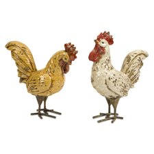 Parson Roosters (Set of 2)