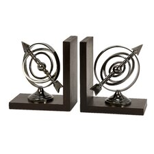 Calisto Armillary Book Ends (Set of 2)