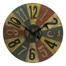 "Clarke Game Piece Oversized 30"" Wall Clock"