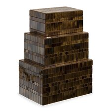 <strong>IMAX</strong> Chai Mosaic Boxes (Set of 3)