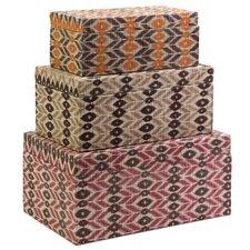 <strong>IMAX</strong> Zyanya Boxes (Set of 3)