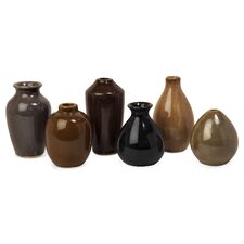 Mini 6 Piece Mini Vase Set