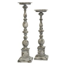 Hamilton Iron Candlestick (Set of 2)