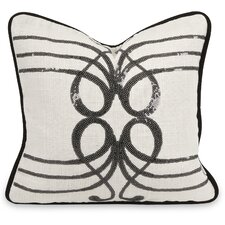 IK Symphony Sequin Linen Pillow