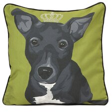 Roxy Dog Cotton Pillow