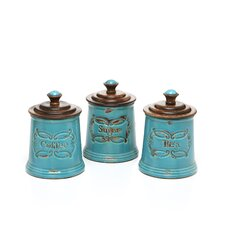 Provincial Canister Vase (Set of 3)