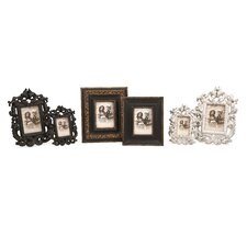 6 Piece Bryant Carved Picture Frames Set
