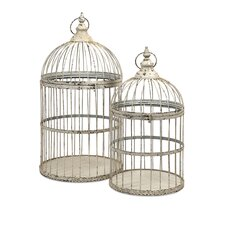 Vellita 2 Piece Bird Cages Set