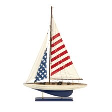 Carter American Flag Sailboat