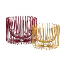 Taranto 2 Piece Wire Basket Set