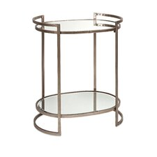 "Ancona 26"" H x 18"" W Mirror Accent Table"