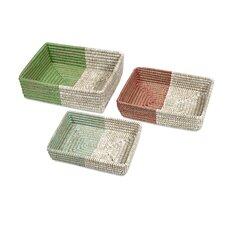 Harvey 3 Piece Woven Trays Set