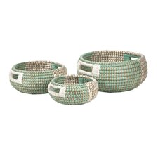 Harvey 3 Piece Woven Trays Set