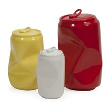 3 Piece Harleigh Ceramic Cans Set