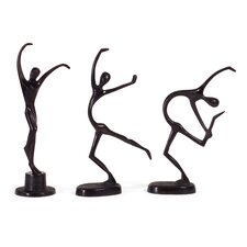 3 Piece Dancers Figurine Set