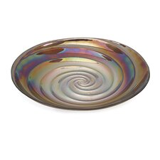 Spiral Large Glass Bowl