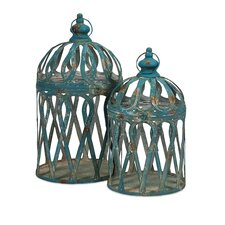 Jennifer 2 Piece Bird Cages Set