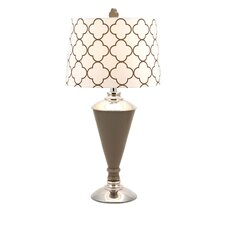 """Essentials 29.75"""" H Table Lamp with Empire Shade"""