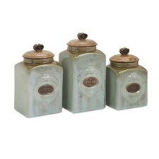 3 Piece Addison Canister Set