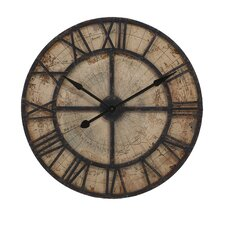 "Bryan Map 31.5"" Wall Clock"