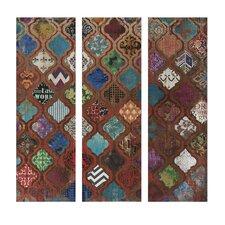 Mcbride Geometric Triptych 3 Piece Painting Print Set