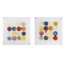 Transference 2 Piece Painting Print Set