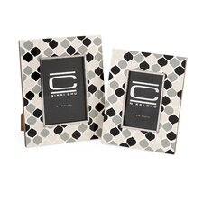 2 Piece Nikki Chu Graphic Picture Frame Set