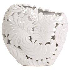 Ortiz Cutwork Leaf Vase