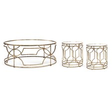 IK Sherine 3 Piece Coffee Table Set