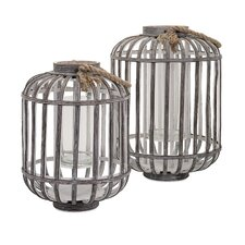 Jate Wood Lantern