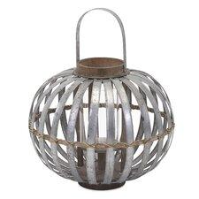 Logan Galvanized Metal Lantern