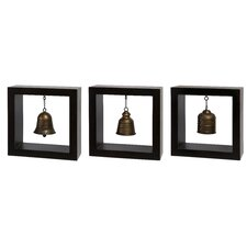 3 Piece Framed Bell Set