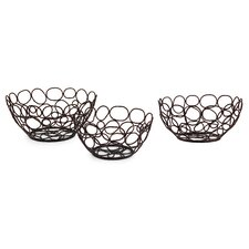 <strong>IMAX</strong> 3 Piece Nesting Bowl Set