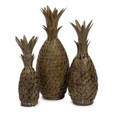 3 Piece Pineapple Medley Sculpture