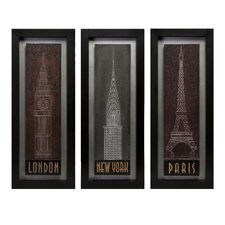 <strong>IMAX</strong> Journeys Wall Panel (Set of 3)