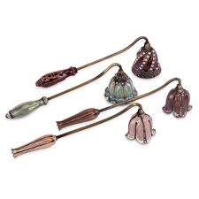 4 Piece Jeweled Candle Snuffer Set