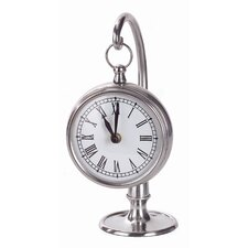 Hanging Clock in Pewter
