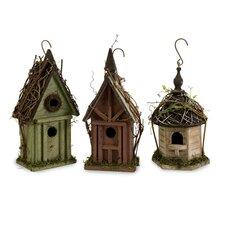 Carthage Bird Houses, 3 Piece Set