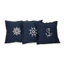 Admiral Cotton Pillow (Set of 3)