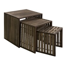Vermont 3 Piece Nesting Tables