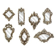Loletta Victorian Inspired Mirror (Set of 7)