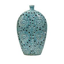 Lopez Floral Pierced Vase