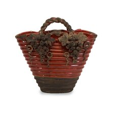 Chateau Basket Vase